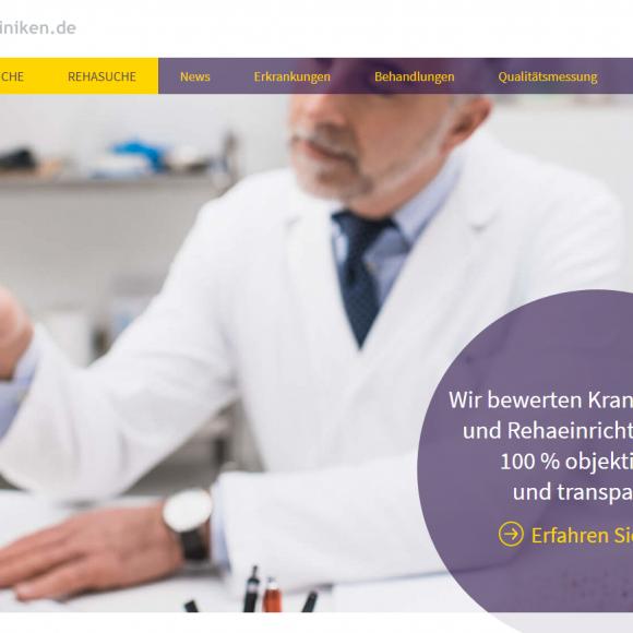 Die Zusammenarbeit trägt bereits Früchte – Qualitätskliniken.de im neuen Look